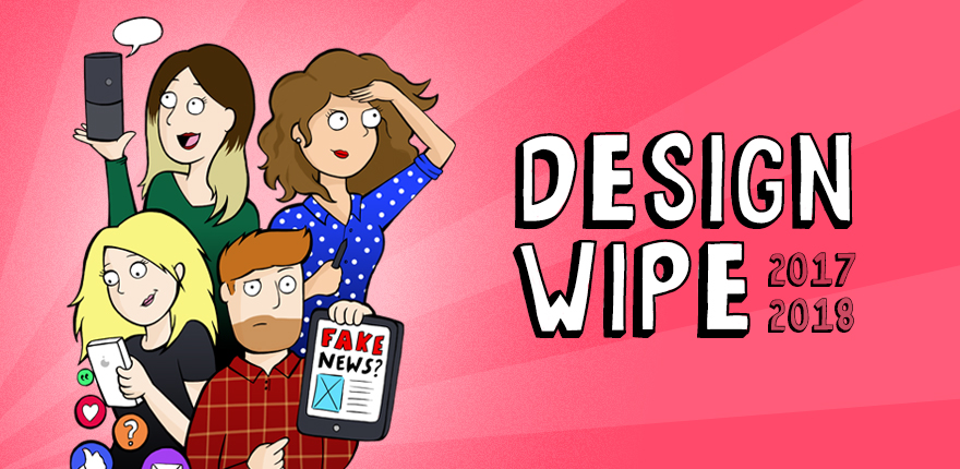 DesignWipe 2018 - A look back, and a look forward