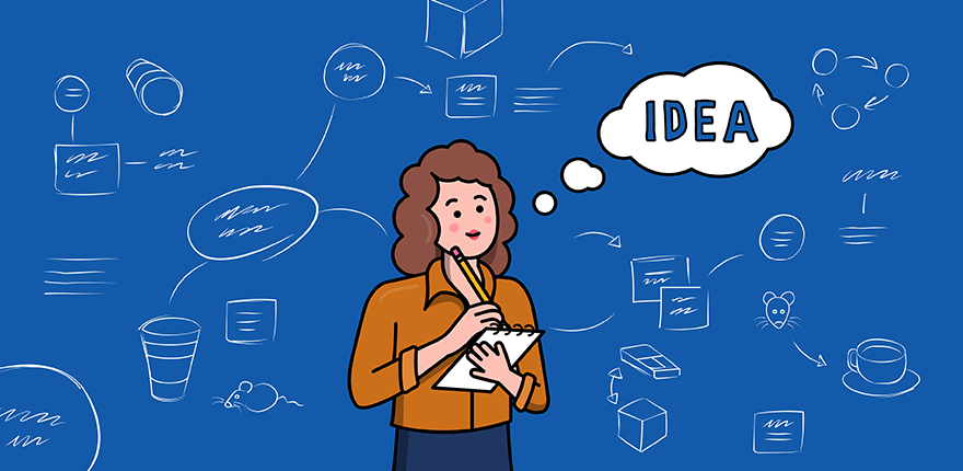 Creative concepts and ideation: What's the big idea?